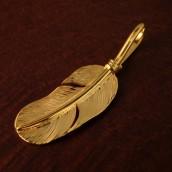 ゴールドコーティングフェザーTOP(Handmade)【TI212】