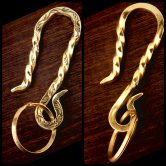 twist hook key holder