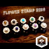 Flower stamp ring